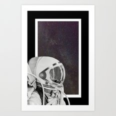 SPACE VIEW Art Print