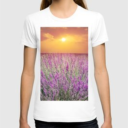 Lavender Fields T-shirt