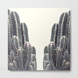 sparkling cactus Metal Print