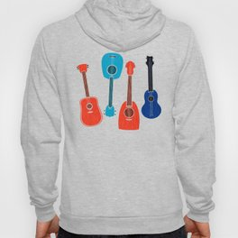 Americana Guitars ~ Mid Century Pop Art Hoody
