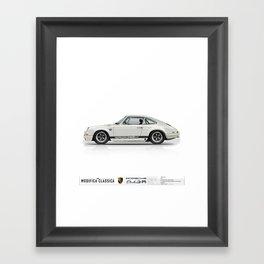 1967 Porsche 912R LIGHT IVORY Framed Art Print