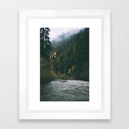 East Fork Hood River Framed Art Print