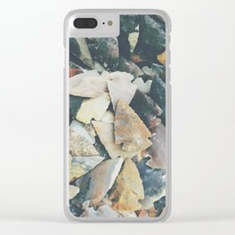Desert Relics Clear iPhone Case