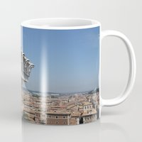 rome Mugs featuring Rome by AntWoman