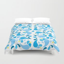 Signs of Summer Duvet Cover