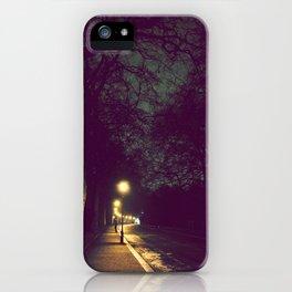 night walk iPhone Case