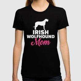 Irish Wolfhound mom T-shirt