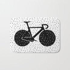 Track Bike Bath Mat