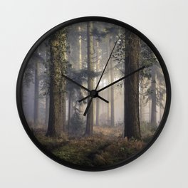 Puddletown Forest Wall Clock