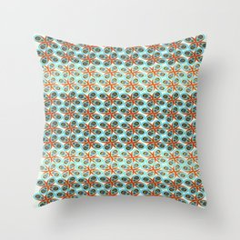 Westworks in Oysters and Pearls Throw Pillow