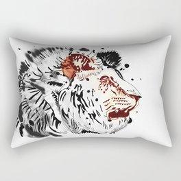 Thirsty as a Lion Rectangular Pillow