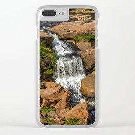 River walk Clear iPhone Case