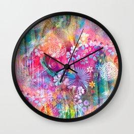 Hidden Heart Wall Clock