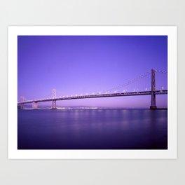 the bridge 4 sky Art Print