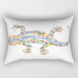 Barcelona Lizard Rectangular Pillow