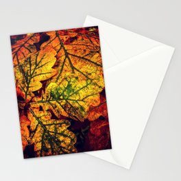 Autumn Leave Glow Stationery Cards