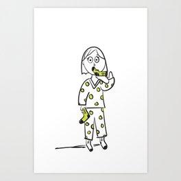 Put A Sock In It Idiom Art Print