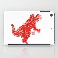 godzilla iPad Cases featuring Godzilla by Design Made in Japan