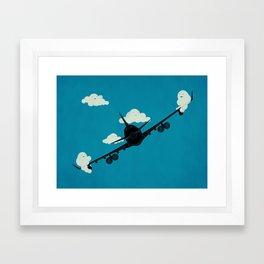 Seesaw in the Sky Framed Art Print