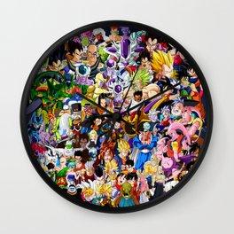 Dragon ball characters Wall Clock