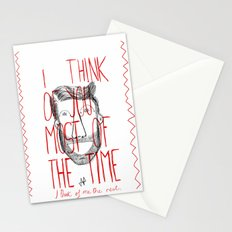 I think of you Stationery Cards