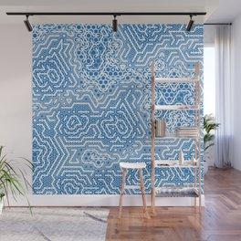 Cyber Chinoiserie Wall Mural