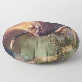Cosmic Unity Floor Pillow