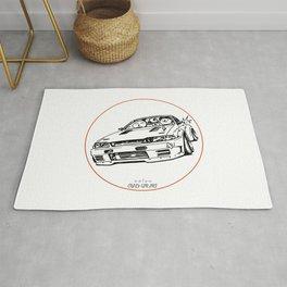 Crazy Car Art 0012 Rug