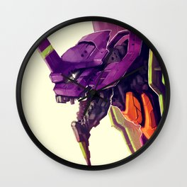 Eva 01 Wall Clock