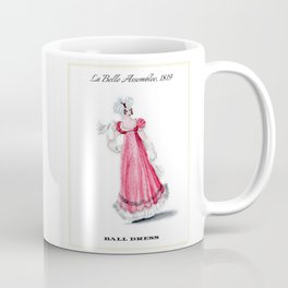 Fashion Plate 1819, Regency England Coffee Mug