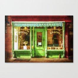 Vesuvio Bakery Canvas Print