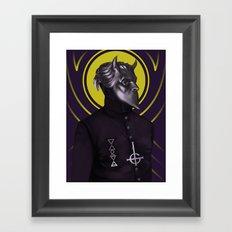 Nameless Ghoul Air Framed Art Print