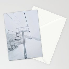 Skiing in New Hampshire Stationery Cards