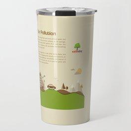 Air Pollution  Travel Mug