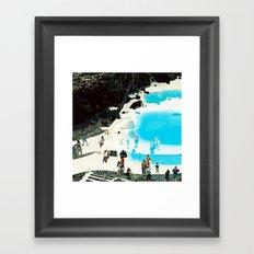 swimming pool 3 Framed Art Print