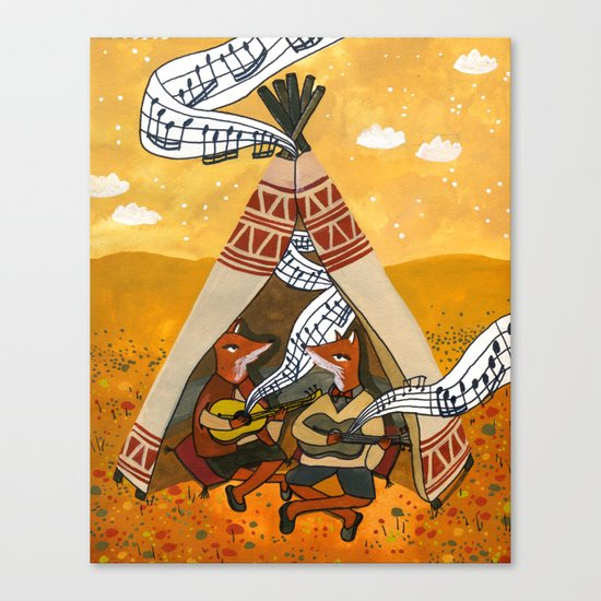 Wigwam Waltz Canvas Print