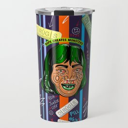 Dope Creates Monsters Rewind Travel Mug