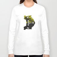 motorcycle Long Sleeve T-shirts featuring Motorcycle by bike51design