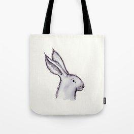 Portrait of Mr Rabbit Tote Bag