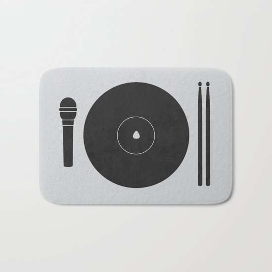 hungry to rock Bath Mat