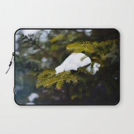 Pine Needles in Labrador Laptop Sleeve