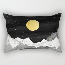 Live with Stars and Mountains Rectangular Pillow