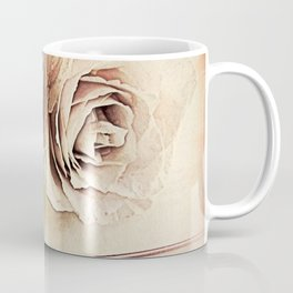 Roses on Book Library Art A113 Coffee Mug