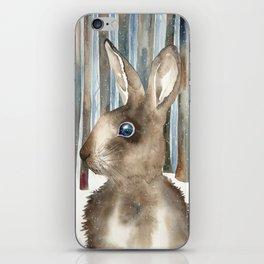 Woodland Rabbit iPhone Skin
