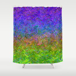 Fluid Colors G252 Shower Curtain