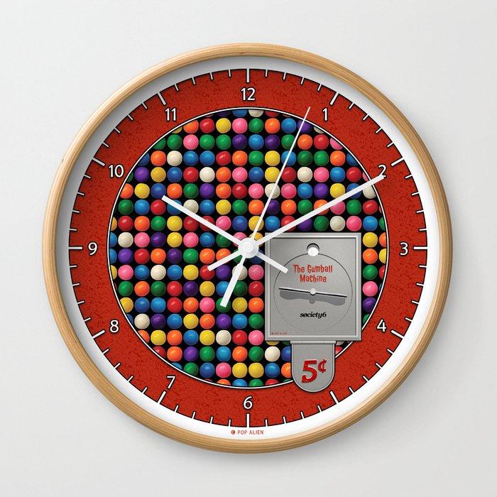 The Gumball Machine Wall Clock