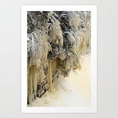 Ice Sculptures Art Print