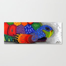 Oaxacan Turtle Canvas Print
