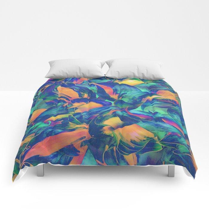 Tropical Mood 2 Comforters