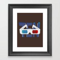 'Ten' - Doctor Who Tenth Doctor design Framed Art Print